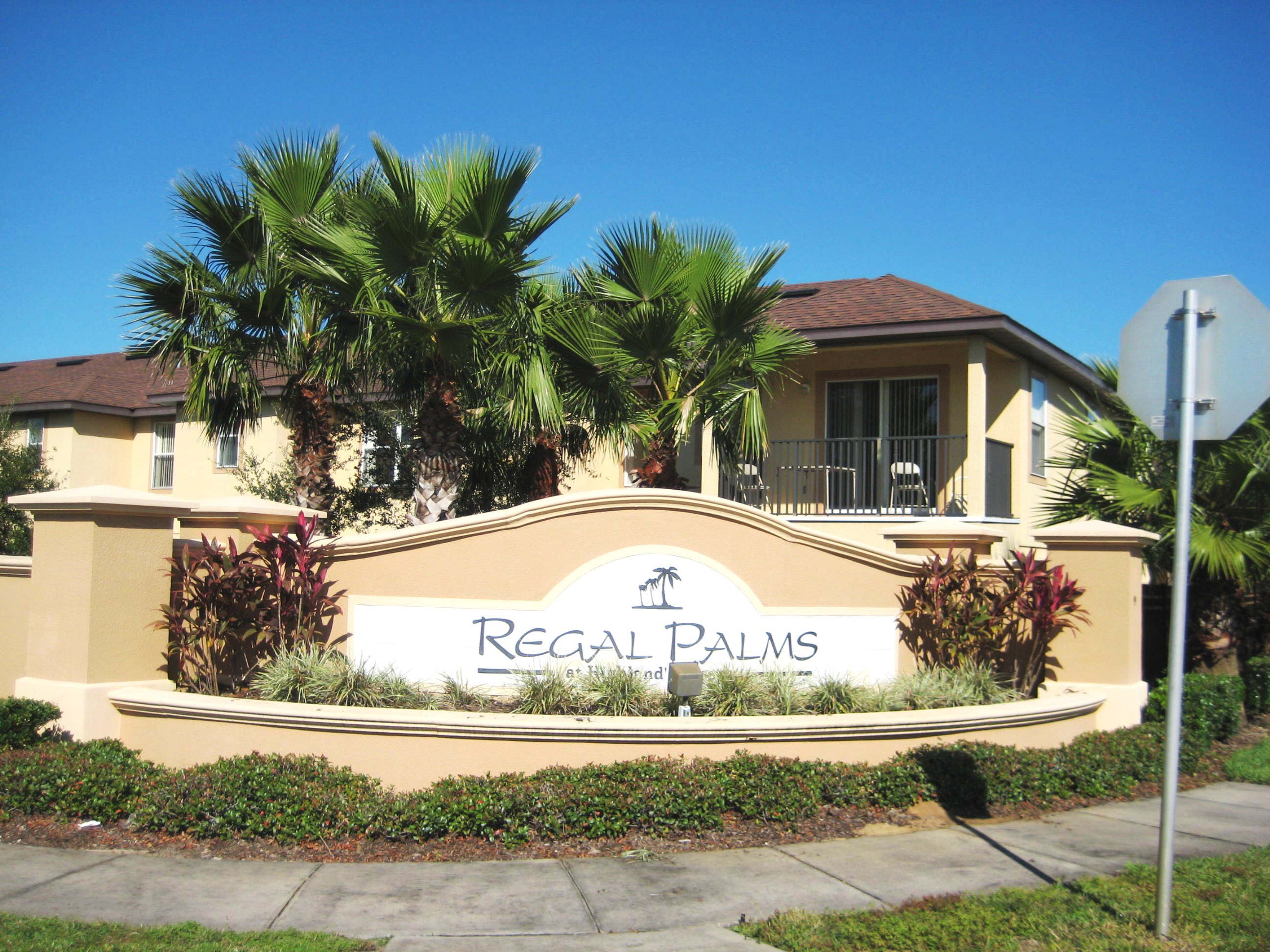 4 Bedroom House At Regal Palms Resort Davenport Florida Near Disney